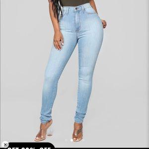 Fashion nova classic high Waisted jeans sz 0 short
